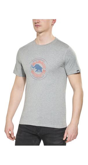 Mammut Garantie t-shirt Heren grijs